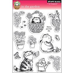 Penny Black 'In The Garden' Clear Stamp Sheet
