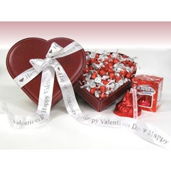 Hershey's Kiss Faux-leather Chocolate Gift Box