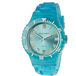 Monument Unisex Blue Jelly Interchangeable Fashion Watch