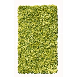 T-shirt Cotton Lime Shag Rug (4'7 x 7')