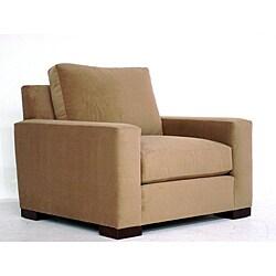 Faxon Furniture 'Taylor' Top Hat Antique Gold Accent Chair