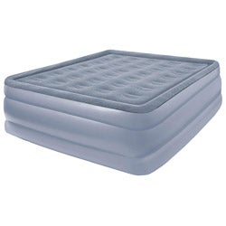 Pure Comfort Full Size Raised Flock Top Air Bed