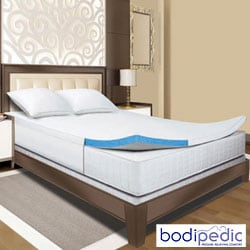 Bodipedic 2-inch Gel Memory Foam Queen/ King/ Cal King-size Mattress Topper