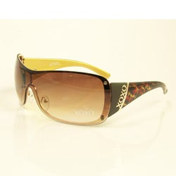 XOXO Edge Leopard Sunglasses