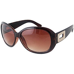 XOXO Women&#39;s Brown Horn Subway Sunglasses