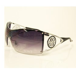 XOXO Smoke and Silver Casino Sunglasses
