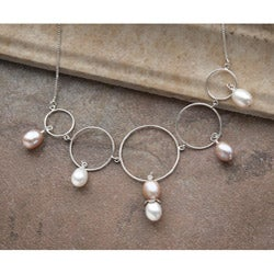 Classic Sterling Silver Royal Pearl Necklace (9-11 mm)