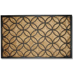 Tuff Brush Circles Door Mat (1'6 x 2'6)