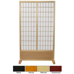 Wooden 5-foot Window Pane Freestanding Room Divider (China)