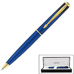 Parker Inflection Tranquil Blue Ballpoint Pen