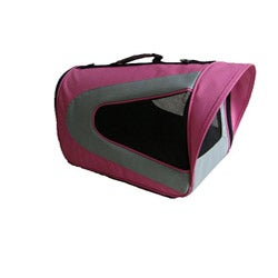Pet Life Small Pink Mesh Carrier