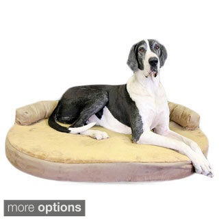 X-large Orthopedic Memory Foam Joint Relief Bolster Dog Bed