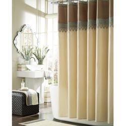 Manor Hill Kasbah Faux Silk Shower Curtain | Overstock.