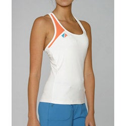 Pure Lime Women's Color Block Racer Top
