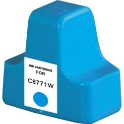 HP 02 Compatible C8771WN Cyan Ink Cartridge