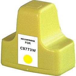 HP 02 Compatible C8773WN Yellow Ink Cartridge