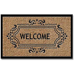 Tuff Brush Welcome Door Mat (2' x 3'3)