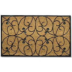 Tuff Brush Apples Door Mat (2'6 x 4')