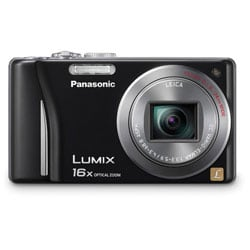 Panasonic Lumix DMC-ZS8 14.1MP Black Digital Camera