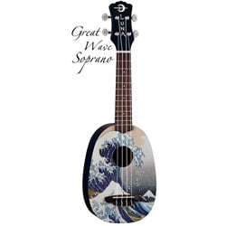 Great Wave Soprano Ukulele With Gig Bag