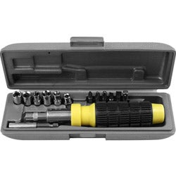 Ratchet Screwdriver 14-piece Set in Case