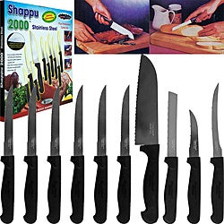 As Seen on TV Shappu 2000 10-piece Stainless Steel Cutlery Set
