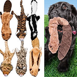 As Seen on TV Crazy Critters Stuffing-free Dog Toys (Set of 6)