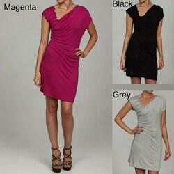 M by M Kalan Women's Pintuck Dress