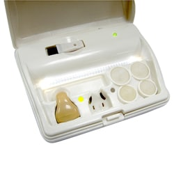 Lee Majors Bionic Ear Hearing Aid Kit with Charging Case