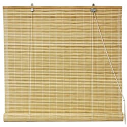 Bamboo Natural Roll-up Window Blinds (36 in. x 72 in.) (China)