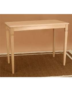 Amboise Whitewash Breakfast Bar Table