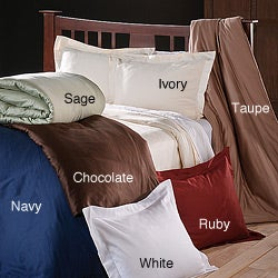 Pima Cotton 400 Thread Count 3-piece Duvet Cover Set