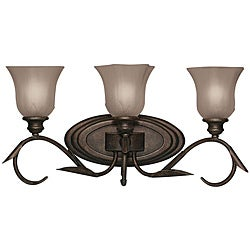 Legacy Bronze 3-light Vanity Fixture