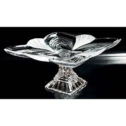 Fifth Avenue Aurora Crystal 11.5-inch Pedestal Plate