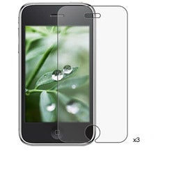Anti-glare Screen Protector for Apple iPhone 3G/ 3GS (Pack of 3)