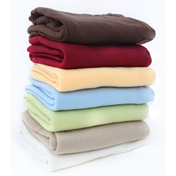 Brushed Polyester Fleece Sheet Set