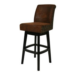 Wrangler/ Leopard Lake Village 26-inch Swivel Counter Stool