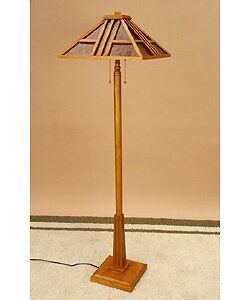 meridian mission style floor lamp 134548 shopping. Black Bedroom Furniture Sets. Home Design Ideas