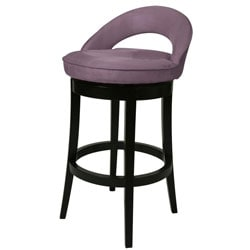 Urbana 26-inch Wood Swivel Counter Stool