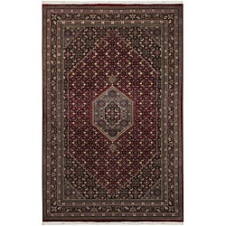 Hand-knotted Mandara Oriental New Zealand Wool Rug (8'6 x 11'6)
