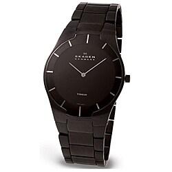 Skagen Men's Black Label Titanium Watch