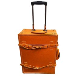 La Vida Tan Vintage-look 2-piece Carry-On Luggage Set