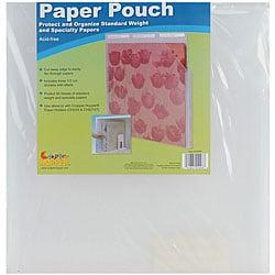 Cropper Hopper Vertical Paper Pouch (12 x 12)