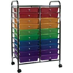 Cropper Hopper Home Center Rolling Cart - 20 Drawer Multi