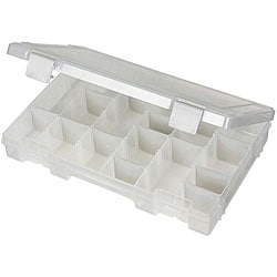 ArtBin Tarnish Inhibitor Solutions Box 6-12 Compartments - 11 X7 X1.75 Translucent