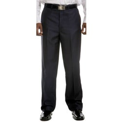 Men's Flat Front Dress Pant - Black/Navy/Burgundy/Grey/Brown | Men