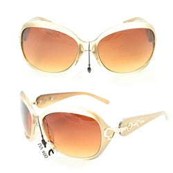 Women's 1119 Gold Two-tone Fashion Sunglasses
