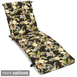 All-weather Three-section Outdoor Chaise Lounge Cushion