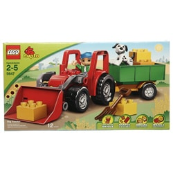 LEGO 5647 Duplo Big Tractor Toy Set