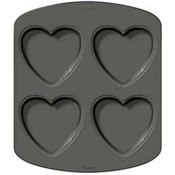 Wilton Two-layer Heart Four-cavity Cake Pan